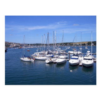 Falmouth Harbour Postcard