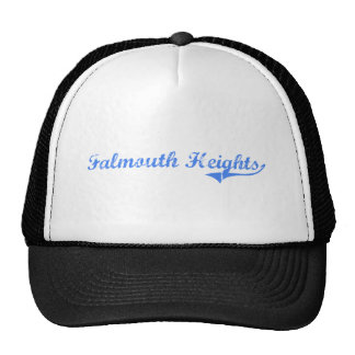 Falmouth Heights Massachusetts Classic Design Mesh Hats