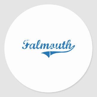 Falmouth Kentucky Classic Design Stickers