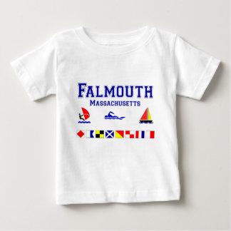 Falmouth MA Signal Flag Baby T-Shirt