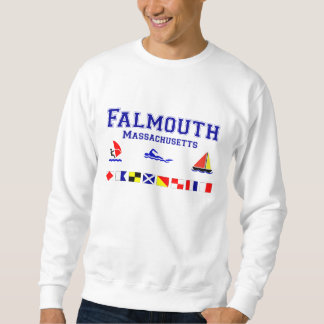 Falmouth MA Signal Flag Sweatshirt