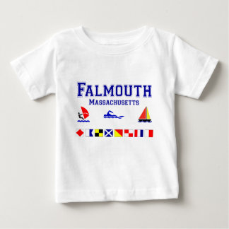 Falmouth MA Signal Flag Tee Shirt