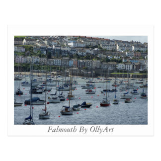 Falmouth por la fotografía de OllyArt Postal