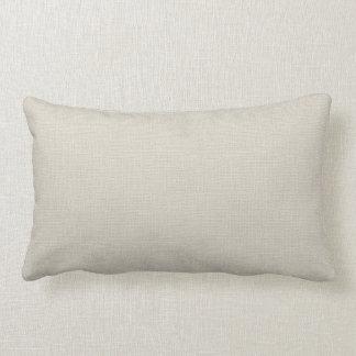 Falsa almohada de marfil rústica del acento de la