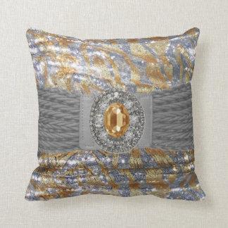Falsa almohada enrrollada de Mojo del diamante art