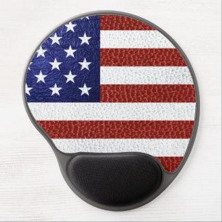 Falsa bandera azul blanca roja de los E.E.U.U. del Alfombrillas Con Gel