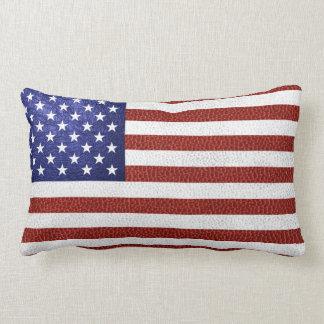Falsa bandera azul blanca roja de los E.E.U.U. del Cojines