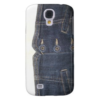Falsa bolsa del dril de algodón - casos del iPhone Funda Para Samsung Galaxy S4