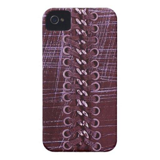 Falsa cadena enrrollada, cordones, caja de los oje Case-Mate iPhone 4 cárcasas