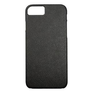 Falsa caja de cuero negra del iPhone 7 Funda iPhone 7
