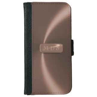 Falsa caja de la cartera del iPhone de la placa de Carcasa De iPhone 6