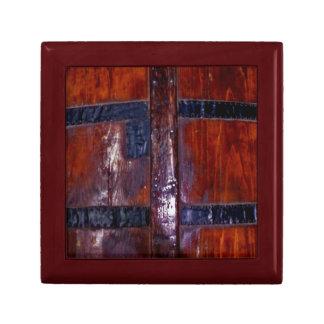 Falsa caja de regalo del top de madera