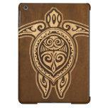 Falsa caja hawaiana de madera del aire del iPad de