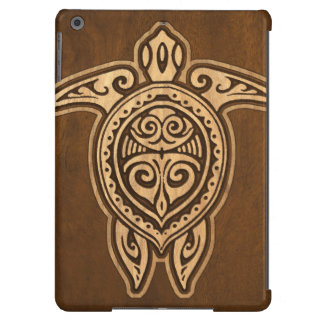 Falsa caja hawaiana de madera del aire del iPad de Funda Para iPad Air