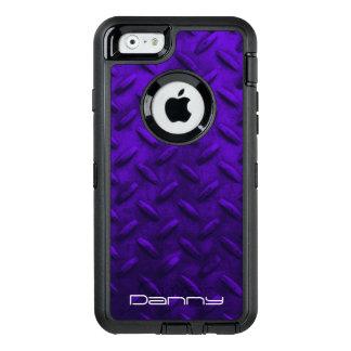 Falsa caja púrpura personalizada del teléfono de funda otterbox para iPhone 6/6s