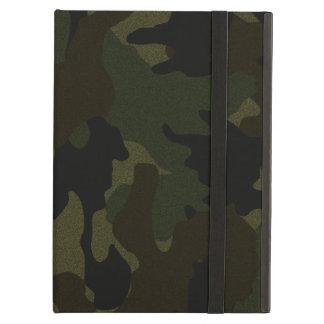 Falsa caja verde oscuro del aire del iPad del iCas