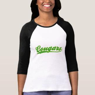 Falsa camiseta del jersey de béisbol de los pumas
