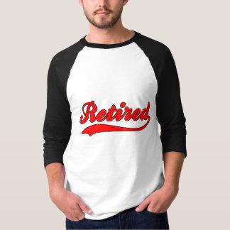 Falsa camiseta jubilada del jersey de béisbol