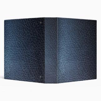 Falsa carpeta de cuero azul de Avery