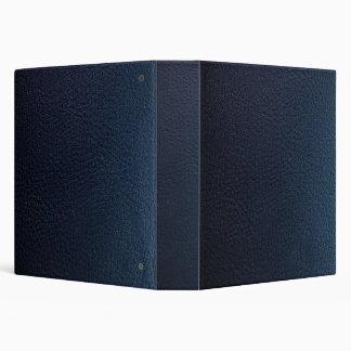 Falsa carpeta de cuero azul marino de Avery