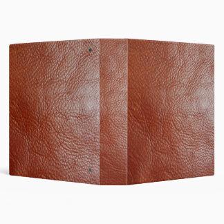 Falsa carpeta de cuero bronceada de Avery