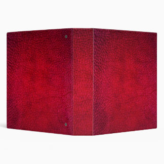 Falsa carpeta de cuero roja de Avery