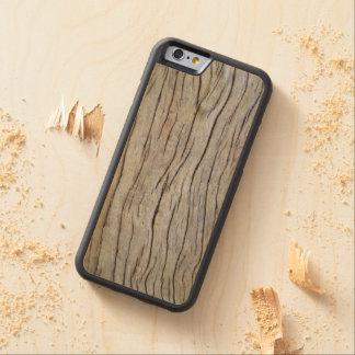 Falsa corteza de árbol vieja de Cypress Funda De iPhone 6 Bumper Arce