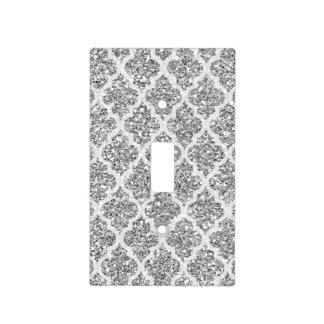Falsa cubierta de interruptor de la luz de plata cubiertas para interruptor