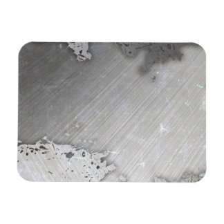 Falsa) disposición cepillada gastada del metal ( imanes flexibles