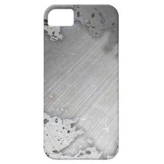 Falsa) disposición cepillada gastada del metal ( iPhone 5 funda