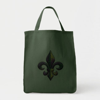 Falsa flor de lis moldeada bolsas