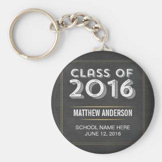 Falsa graduación 2016 del oro de la pizarra