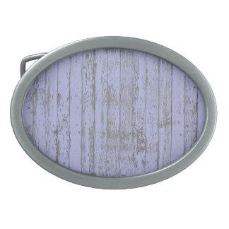 Falsa hebilla del cinturón de madera del óvalo de hebilla de cinturón oval
