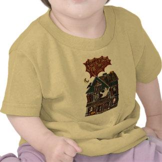 Falsa impresión de la joya de la casa encantada li camisetas