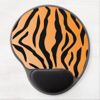 Falsa impresión del tigre alfombrilla de raton con gel