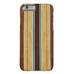 Falsa Koa tabla hawaiana de madera de Nalu Hou Funda De iPhone 6 Barely There