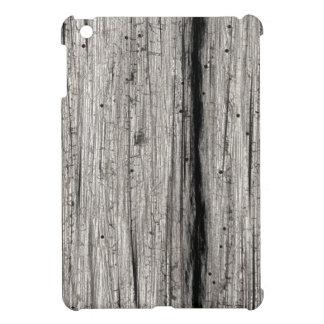 Falsa madera resistida plateada del granero