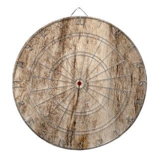 Falsa madera vieja suave tablero dardos