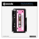 Falsa piel 4 del tacto de iPod de la etiqueta del  iPod Touch 4G Calcomanías