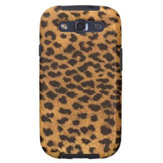 Falsa piel del leopardo samsung galaxy s3 protectores