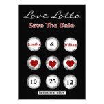 Falsa reserva de la loteria del amor la invitación