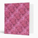 Falsa serpentina de los diamantes rosados metálico