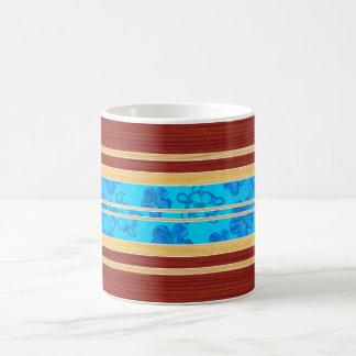 Falsa tabla hawaiana de madera de Honu Hawiian Taza De Café