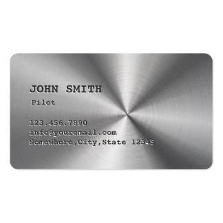 Falsa tarjeta de visita del piloto/del aviador del
