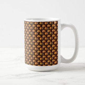 Falsa taza de madera del diseño único de la burbuj