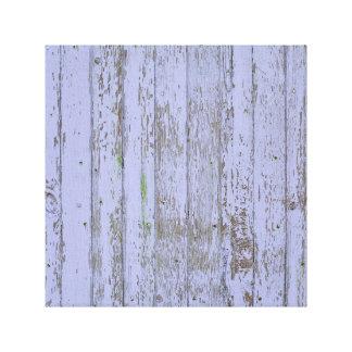 Falsa textura de madera de la lavanda impresión en lienzo