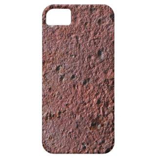 Falsa textura del moho hierro aherrumbrado escamo iPhone 5 Case-Mate carcasas
