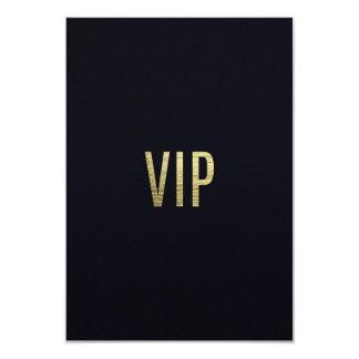 """Falsa tipografía ostentosa de la hoja """"VIP"""" de la Invitación 3.5"""" X 5"""""""