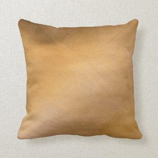 Falsas almohadas de cobre brillantes del final