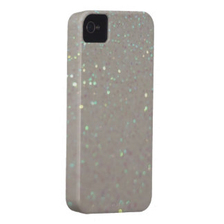 Falsas chispas y brillo - caso poner crema del iph iPhone 4 Case-Mate protectores